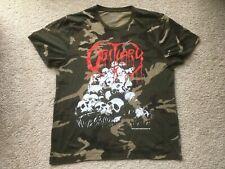1991 OBITUARY UK/EUROPEAN TOUR CAMO SHIRT death metal blue grape deicide slayer