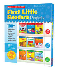 Brand New In Box Scholastic First Little Readers Levels A, B, C (Grades Pre K-2)