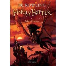 Harry Potter i Zakon Feniksa, J.K. Rowling, polska ksiazka, polish book