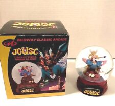 Joust Midway Classic Arcade Collectible Snow Globe New #899 of 3000