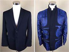 Ted Baker Elevated Men's Blazer Sport Coat Jacket Navy Blue Sz 42S (Short)