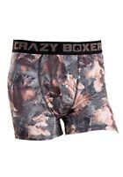 Crazy Boxers Camouflage Men's Boxers Briefs