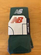 Mens All Sport New Balance Socks 2 Pack Green Size 9-11 New