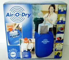 800W Mini Air-O-Dry Portable Electric Clothes Dryer Bag Blue Foldable