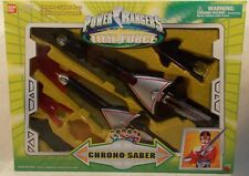 Power Rangers Time Force - Chrono-Saber Role Play Lights Color & Sound (MISB)