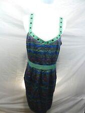 I Love Ronson L Large Women's Summer Dress Sleeveless Lined Knee-Length
