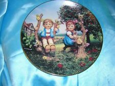 "Danbury Mint M. I. Hummel ""Apple Tree Boy and Girl"" Limited Edition Plate"