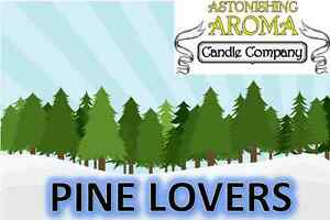 PINE LOVERS COLLECTION Soy Wax Clamshell Break Away tart melt wickless candle