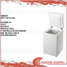 CONGELATORE A POZZETTO CLASSE A+ 102LT STATICO INDESIT OS1A1002 BIANCO