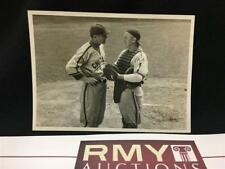 DIZZY DEAN & GABBY HARTNETT  ORIGINAL 1939 3.25X4.5 PHOTO VINTAGE Type 1 +COA