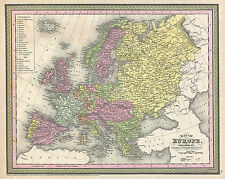 780 Old Rare Antique Maps of Europe in High Resolution (300dpi) on one DVD