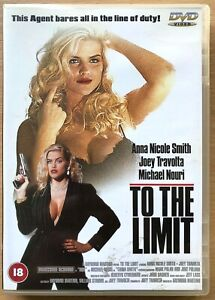 To the Limit DVD 1995 Erotic Thriller Movie w/ Anna Nicole Smith