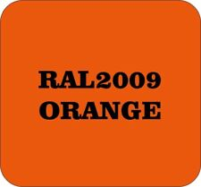 Cellulose Car Body Classic Vintage Paint RAL2009 TRAFFIC ORANGE 1L Gloss