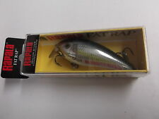 Hard to Find Special Rapala Wood Shallow Fat Rap 7,SFR-7 ALB,Bleak