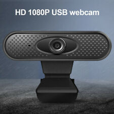 HD 1080P USB Webcam With Microphone Camera For PC Laptop Desktop Live Video Call