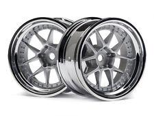 HPI DY-Champion 26mm Chrome Wheels 114636