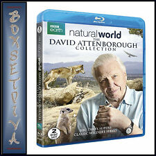 NATURAL WORLD - DAVID ATTENBOROUGH COLLECTION **BRAND NEW BLU-RAY **