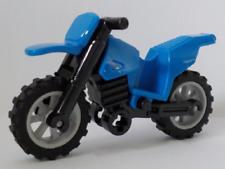 Lego Blue Motorcycle 50860c02 (From 60174) Moto Bleu Police Motorbike New