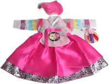 Korea hanbok girls baby traditional costumes dress First birthday dohl doljanchi