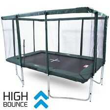 GeeTramp® Force 8x12ft Rectangle Trampoline - High Bounce