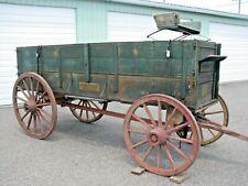 """A Huge Rare13.5'John Deere42""""B Wide Track G Horse Drawn D Farm Wagon620H630R"""