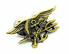 "Mini 1.4"" Us Navy Special Operations Badge Trident Pin Usn Seal Team Insignia"