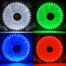 3-4 Pin 33-LED Light Neon PC Computer Case CPU Cooling Fan Mod Cooler 120mm new