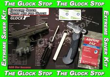 EXTREME SAVER SIGHT Kit for GLOCK COMPLETE INSTALLATION FRONT REAR Night Sights