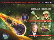 NASA Astronaut JOHN GLENN/Friendship 7/Mercury/Space Shuttle Stamp Sheet #2