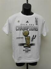 NEW SAN ANTONIO SPURS YOUTH 8 SMALL S 2014 LOCKER ROOM CHAMPIONSHIP Shirt 65LZ