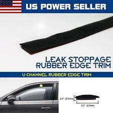 180inch Car Front Rear Window Waterproof Windshield Rubber Strip Seal Edge Trim