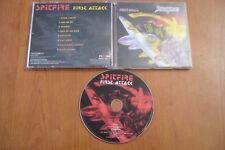 SPITFIRE FIRST ATTACK CD 2001 MINOS HEAVY METAL NWOBHM QUEENSRYCHE CRUSH DIO