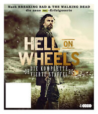 Hell On Wheels, Die komplette Vierte Staffel, 4 Discs
