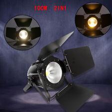 Audience Blinder 100w LED COB cieca riflettore Teatro Palco Illuminazione Luce