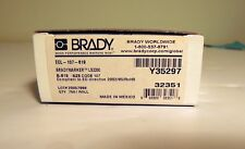 "BRADY ECL-107-619 PERMANENT POLYESTER .67""X.225"" LS2000 BRADYMAKER XC 750/roll"