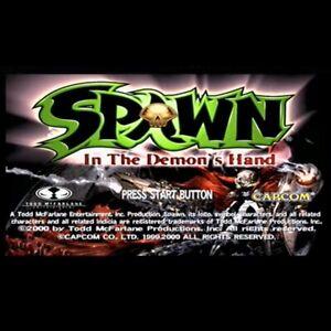 Used Spawn In The Demon's Hand Cartridge Sega Capcom 1999 NAOMI JVS 3D Action