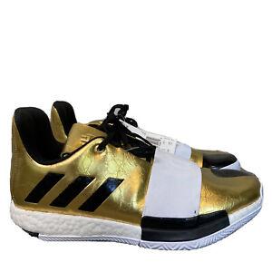 Adidas James Harden Vol. 3 Imma Star Men's  Shoes Gold Black Size 6.5 G54026
