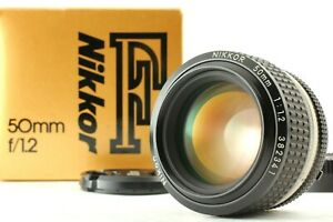 【 MINT++  in Box 】NIKON Ai-s Ais NIKKOR 50mm f/ 1.2 MF Standard Lens from JAPAN