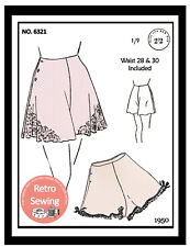 1940s French Knickers Sewing Pattern - 2 sizes