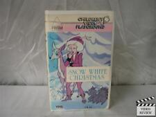 Snow White Christmas VHS Children's Video Playground