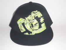 DC Shoes GIL FLEX 210 Flatbill Hat Green L/XL ($27) NEW Cap MOTO Snow BMX Skate