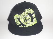 DC Shoes GIL FLEX 210 Flatbill Hat Green L/XL ($27) NEW Cap MOTO Snow BMX Skate