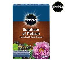 Miracle Gro Natural Sulphate of Potash Fruit & Flower Enhancer Plant Food 1.5kg