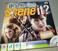 Harry Potter SCENE IT - The Complete Cinematic Journey FAMILY BOARD GAME