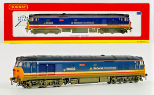 HORNBY 00 GAUGE - R2429 - NETWORK SOUTHEAST CLASS 50 'SUPERB' WEATHERED 50002