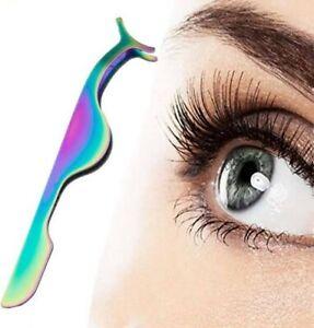 Eyelash Tweezer Applicator for False Lashes Fake Eyelashes in Multicolor Tool