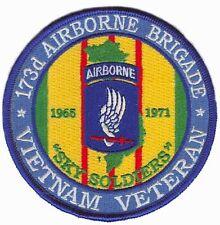 173rd Airborne Brigade Division Vietnam Veteran Patch Officially Licensed