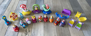 Peppa Pig Racers Cars Carnival furniture Train ABD Limited 2003 Lot