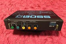 BOSS RRV-10 Digital Reverb Guitar Effect Pedal rrv10 roland