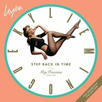KYLIE MINOGUE - STEP BACK IN TIME:THE DEFINITIVE COLLECTION  2 VINYL LP NEU